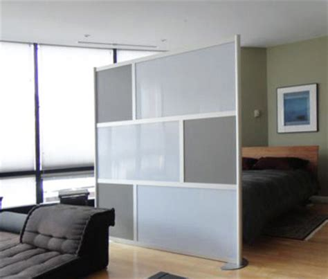 6' Modern Room Divider, Gray   Modern   Living Room