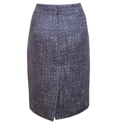 lovely soft vintage tweed winter pencil skirt elizabeth