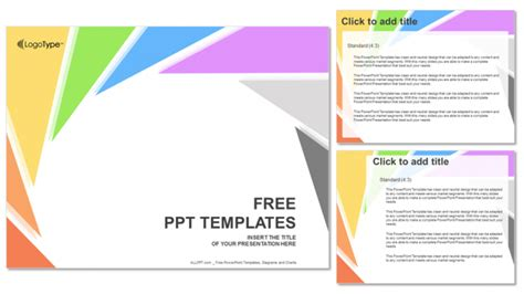 slides template for powerpoint free rotation triangle abstract powerpoint templates