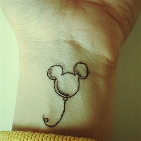 minimalist disney tattoo top 11 disney tattoos tatluv tatluv