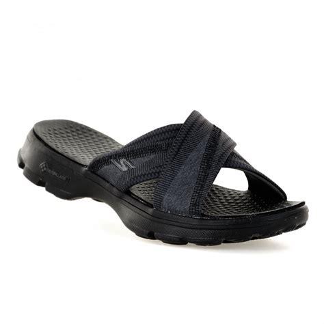 skechers go walk sandals skechers womens go walk mellow sandals black womens