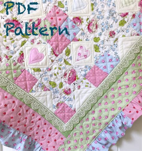 Ruffle Quilt Pattern by Ruffle Baby Quilt Pattern Baby Quilt Patterns Quilt