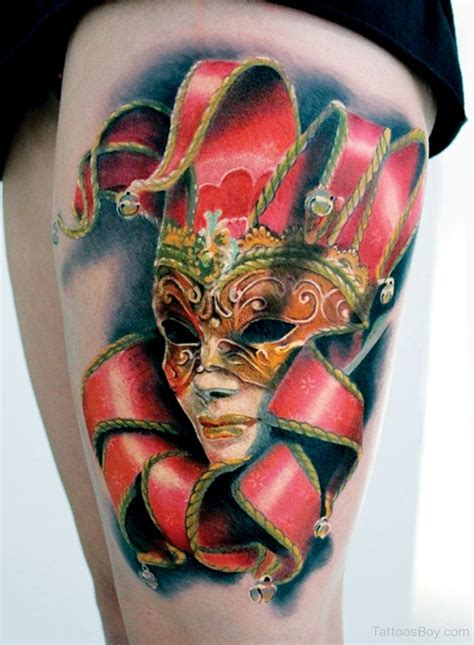 tattoo masks design mask tattoos designs pictures page 10