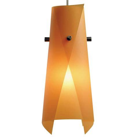 orange lights home depot juno 1 light orange peel hanging mini pendant