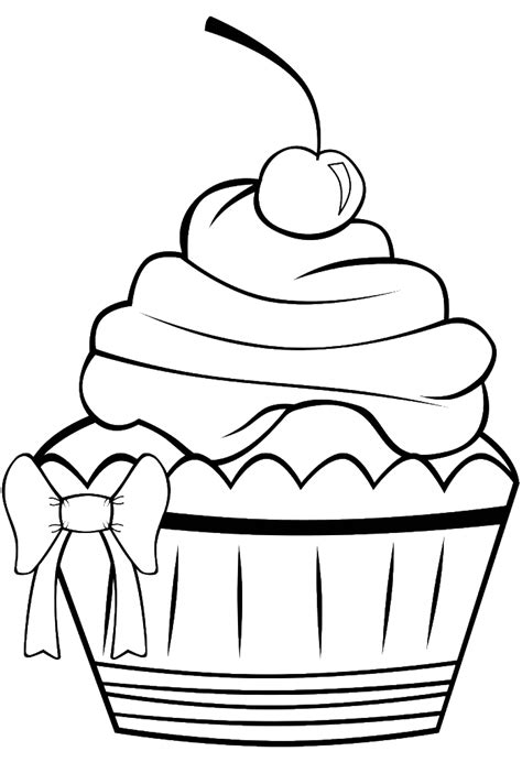 cupcake coloring page online birthday cupcake coloring page az coloring pages