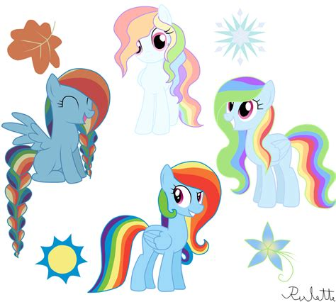 Gamis Rainbow Syari Kid soarin and rainbow dash my pony