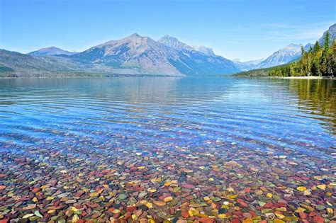 lakes in montana map lake mcdonald glacier national park montana
