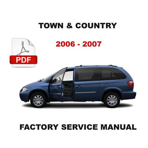old car repair manuals 2007 chrysler town country auto manual 2006 2007 chrysler town and country petrol diesel engine repair workshop manual chrysler