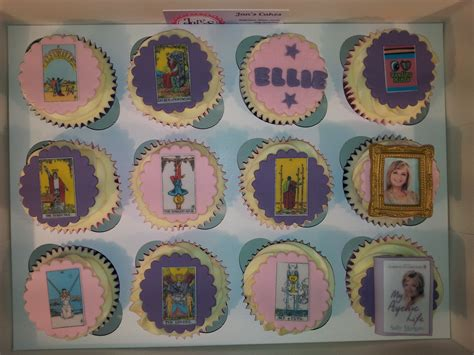 Tarot Card Birthday Cake