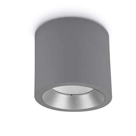 Lu Plafon Universal Led 12v leds c4 cosmos led plaf 243 n de techo aluminio blanco gris o gris urbano 23 2w iluminacion exterior