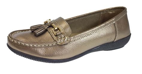 womens loafers and moccasins womens leather driving comfort shoes moccasins cushioned