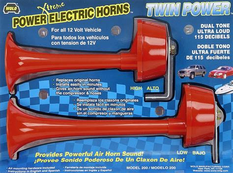 boat horn placement wolo electric horns for cars trucks boats rv s and