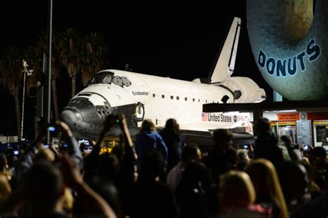 13 journeys through space 1782436871 space shuttle endeavour journeys through los angeles time com
