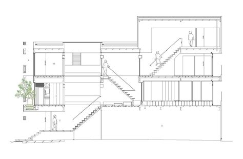 how tall is a 2 story house gallery of machi building uid architects 13