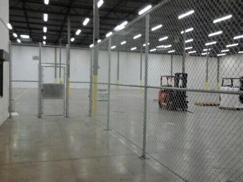 warehouse chain link fence cardinal fence supply inc