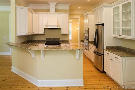 kitchen peninsula designs pictures of kitchens traditional white kitchen cabinets page 2