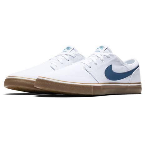 Nike Solarsoft sneakers nike sb solarsoft portmore ii canvas white
