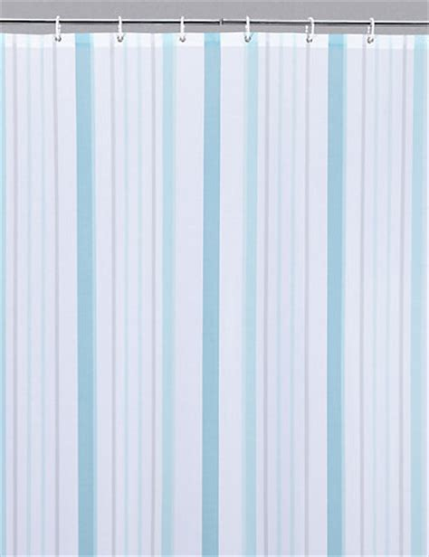 m m shower curtain thin stripe nautical shower curtain m s