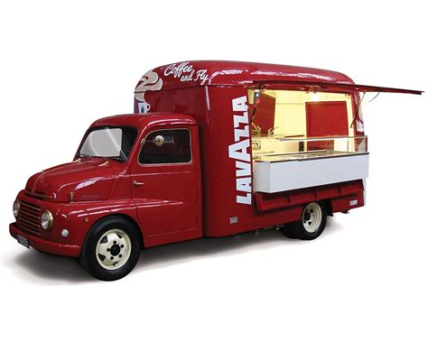 Coffee Food Truck Fiat 615   Lavazza
