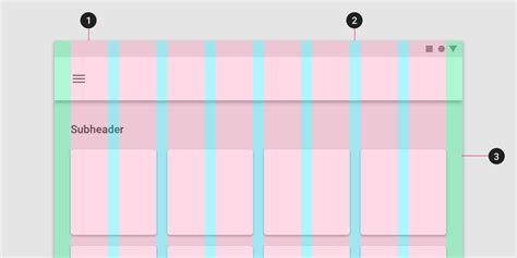 grid layout material design responsive layout grid material design