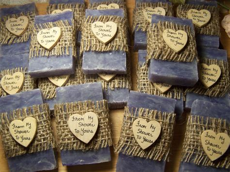 rustic favors 30 wedding favors bridal shower favors soaps