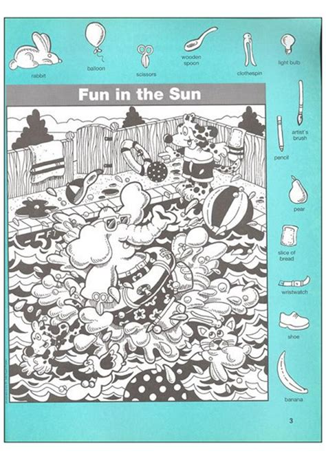 Find Picture Of Find The Object Pictures 10 171 Preschool And Homeschool