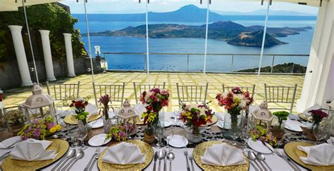 wedding packages in cavite villa ibarra tagaytay city cavite