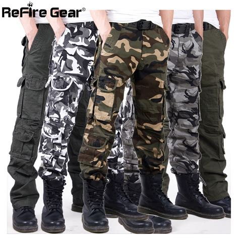 army pattern pants men casual tactical camouflage cargo pants camo pattern