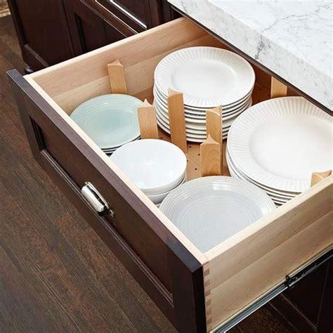 kitchen dish drawer organizer 65 ingenious kitchen organization tips and storage ideas
