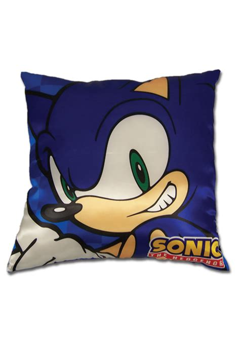 sonic pillow sonic the hedgehog pillow