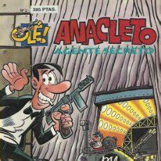 libro anacleto agente secreto ol 233 anacleto agente secreto b lote comprar comics humor editorial ediciones b en