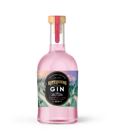 kopparberg flavoured gin growth  pattern