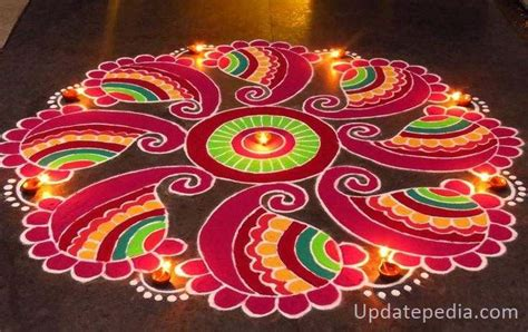 pattern of rangoli art 101 easy rangoli designs simple rangoli pattern for