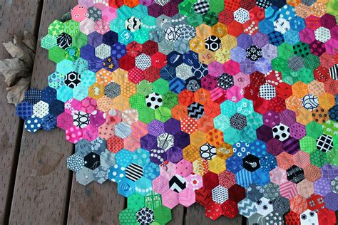 Quilting With Hexagons by Therapy And The Of Quilting Quest