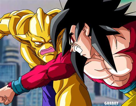 Ballz Kia Dbgt Goku Ssj4 Vs Suu Shenron By Ghenny On Deviantart