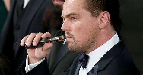 Oscars And Leo by There Will Be No Vaping At The Oscars Even For Certain