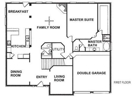 New Home Floor Plan by Floor Plans For New Homes To Get Home Decoration Ideas