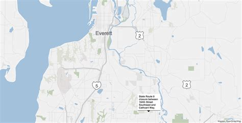 seattle incident map highway 9 near snohomish closed tuesday evening as bomb