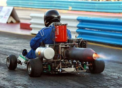 jet ski motor on go kart strange jet powered go kart dragster amazing