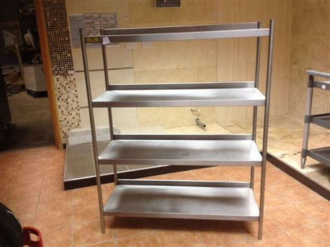 secondhand catering equipment shelves  storage racks