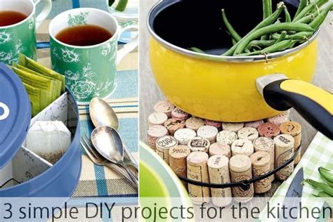 Diy Projects For The Kitchen by 3 Simple Diy Projects For The Kitchen