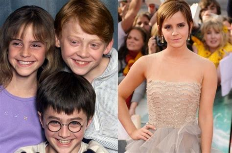 emma watson then and now emma watson then and now pictures harry potter pics