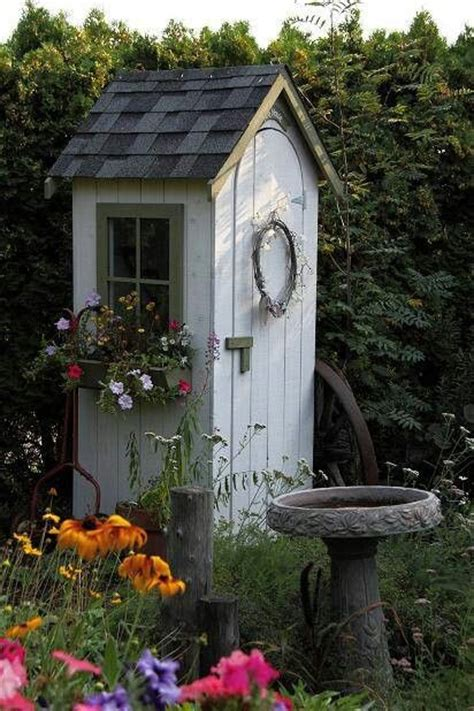 cute garden cute little garden shed garden pinterest