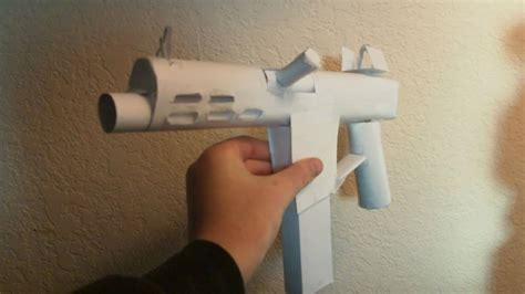 How To Make A Paper Smg - maxresdefault jpg
