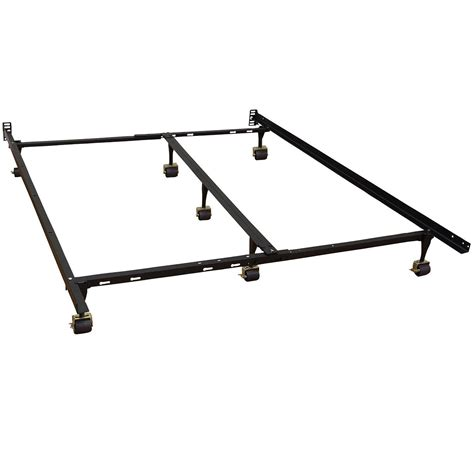 california king metal bed frame california king size metal bed frame with 7 legs locking