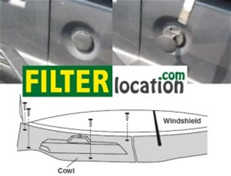 2006 saturn vue fuel filter location saturn vue cabin air filter location