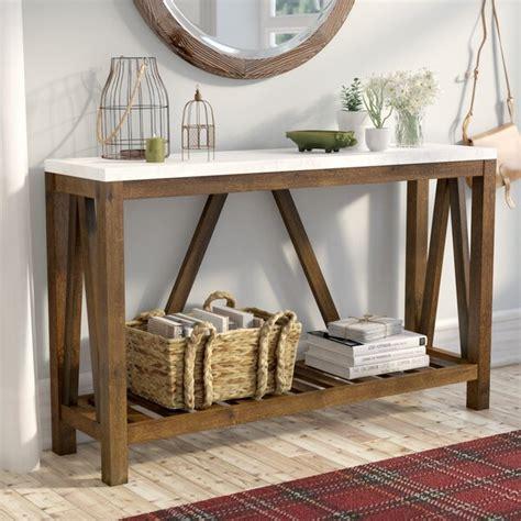 gracie oaks brandy entry console table reviews wayfairca