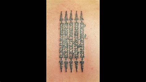 tattoo removal thailand bangkok thailand thai tattoos hah taew