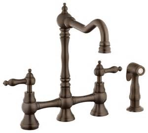 kitchen faucets uk foret n110 01 orb kitchen faucet in rubbed bronze traditional kitchen faucets by