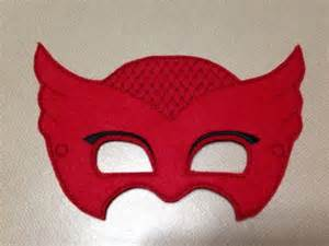 owlette pj masks mask yesss kiddos smooth girls owl felt